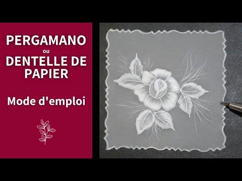 pergamano - http://www.avecpassion.fr/content/79-pergamano-dentelle-papier-parchemin Qu'est ce que c'est le pergamano ? Voici rapidement les 1ères étapes de la réalisati...