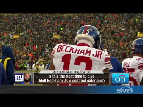 Video: When should the Giants offer a contract extension to Odell Beckham Jr?