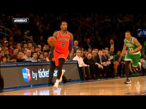 Look - J.R. Smith starts the break as Pablo Prigioni drops the nice dime for Amar'e Stoudemire to finish. Visit nba.com/video for more highlights. About the NBA: Th...