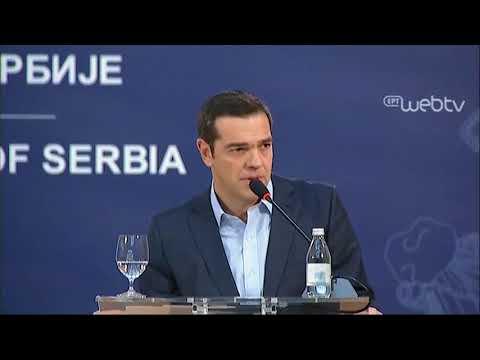 Δηλώσεις μετά την τετραμερή συνάντηση Ελλάδας-Βουλγαρίας-Σερβίας-Ρουμανίας στο Βελιγράδι