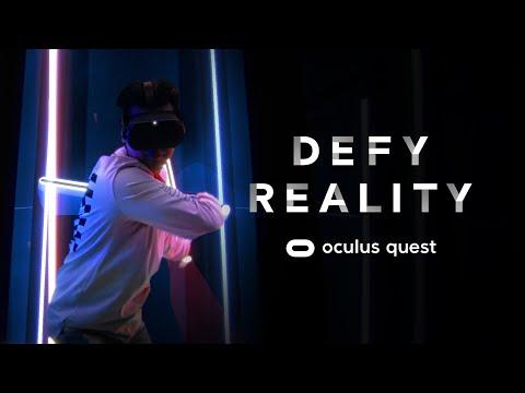 Defy Reality   Oculus Quest видео