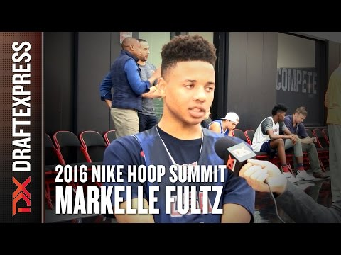 2016 Markelle Fultz Nike Hoop Summit Interview - DraftExpress