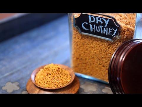 Dry Chutney Powder | Chutney For Vada Pav, Idli, Sandwiches | Divine Taste With Anushruti