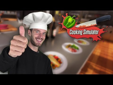 Following PewDiePie's Cooking Simulator Recipe