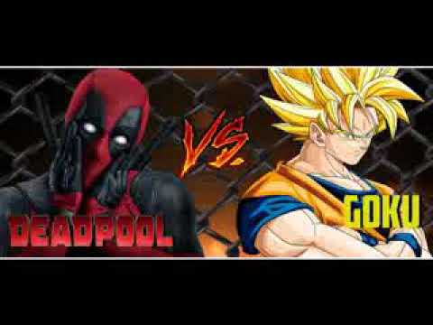 Deadpool Vs Goku