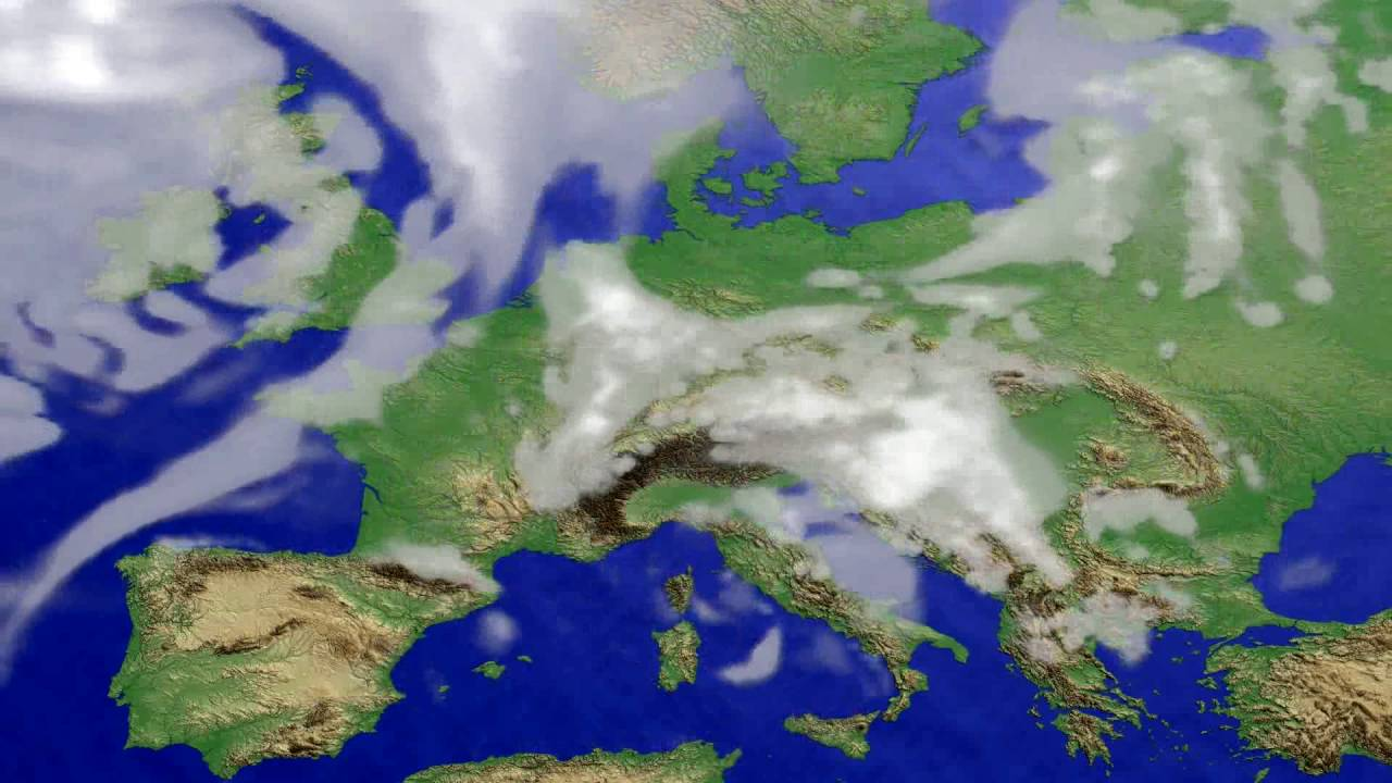 Cloud forecast Europe 2016-07-21