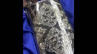 Серебряная фляга