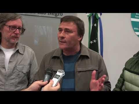 Rubén Pablos, Jorge Torres y Ricardo Flores: Consejo Directivo del Observatorio Malvinas