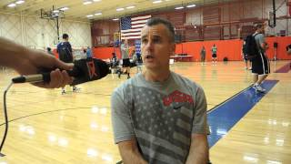Billy Donovan Interview at USA Basketball U19 World Championship Tryouts