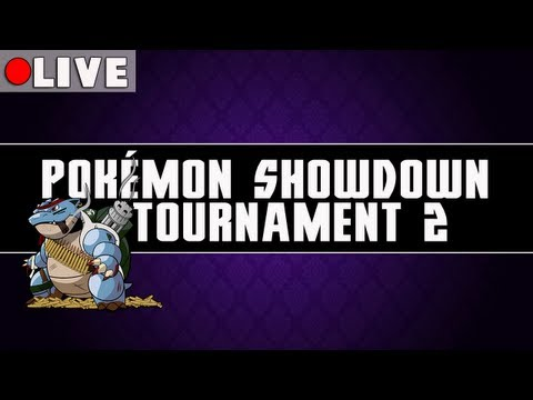 tournament - WHAT'S GOOD YOUTUBE?! Watup. Today we have our second Pokémon Showdown Tournament. The competitors that have made it this far have fought through the Qualifying matches (linked below) and...