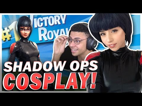 POKI & MYTH'S SECRET FORTNITE MISSION! Shadow Ops Cosplay!