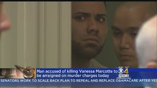The man accused of killing Vanessa Marcotte while she jogged in Princeton nearly a year ago faces murder charges in Worcester District Court Wednesday. WBZ-TV's Anna Meiler reports.