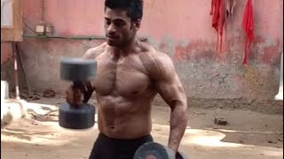 best circuit training for power and strength at desi akhada : Jacky Gahlot mma fighter