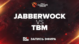 Jabberwock vs TBM, D2CL Season 12, game 1 [Jam, LightOfHeaven]