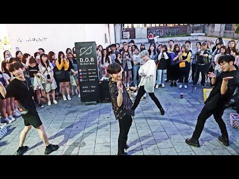 《BTS_BoyWithLuv》20190516#dob(디오비) 방탄소년단#작은것들을위한시 홍대버스킹 20190516_195047 #SnowHorse