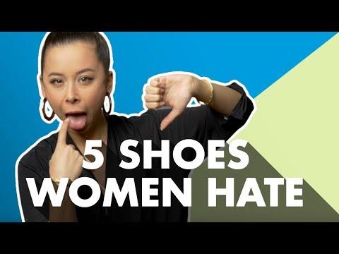 5 Men's Shoe Styles Women Hate видео