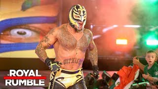 Nonton Rey Mysterio Makes A Shocking Return In The Royal Rumble Match  Royal Rumble 2018  Wwe Network  Film Subtitle Indonesia Streaming Movie Download
