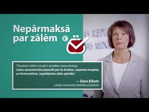 """Sabiedrības informēšanas kampaņa """"Nepārmaksā par zālēm"""""""