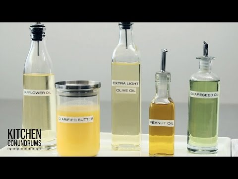 Selecting The Right Cooking Oil - Kitchen Conundrums With Thomas Joseph
