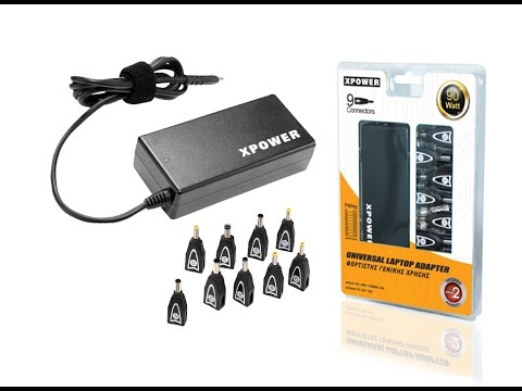 , title : 'XPOWER Universal AC 90W UNIVERSAL HOME NOTEBOOK ADAPTER (Hardcore Unboxing)'