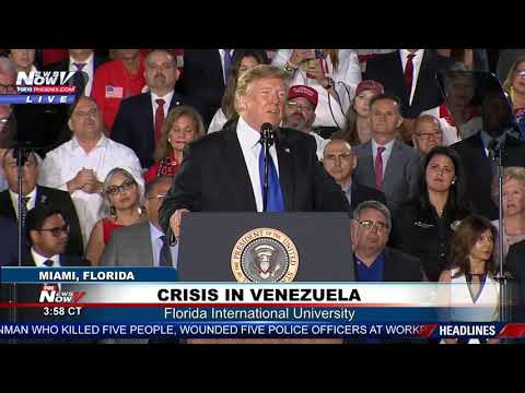 FULL SPEECH: President Trump Addresses Crisis In Venezuela