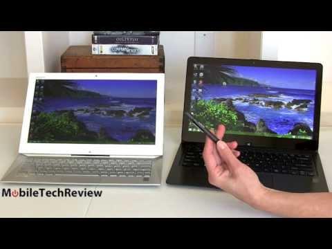 Sony VAIO Flip 13 vs. Sony VAIO Duo 13 Comparison Smackdown