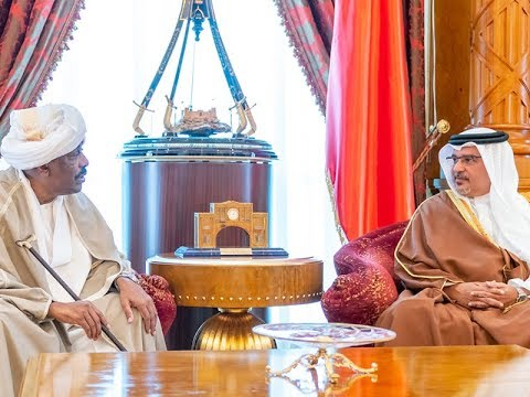 HRH the Crown Prince receives Sudanese Ambassador to Bahrain