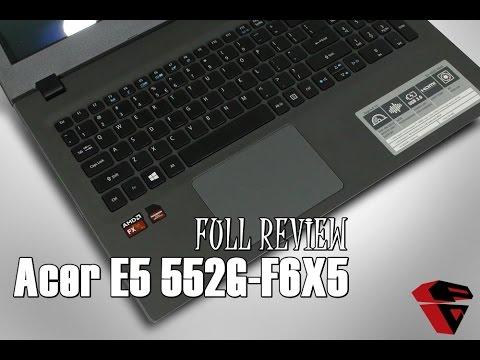 Review Acer Aspire E5 552G - F6X5 : Performa AMD APU FX Carrizo dalam Desain simpel elegan