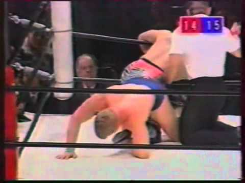 Bob Backlund vs Yoji Anjoh