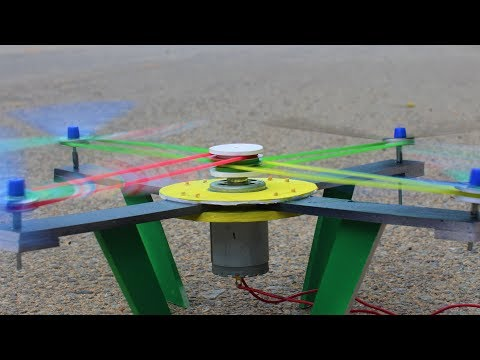 How To Make Helicopter Drone - Drone Helicopter - Does This Work