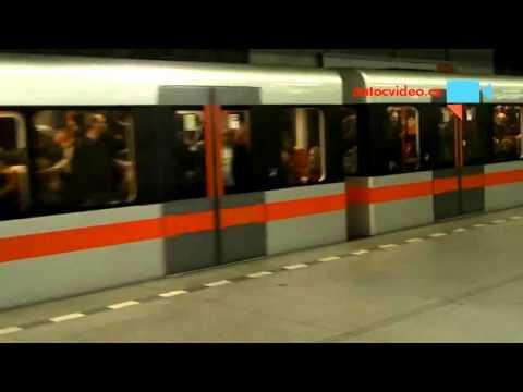 Odpolední nával v metru