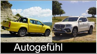 "Mercedes X-Class trim design lines:yellow car: ""Progressive""white car: ""Power""I decided to cut out all the marketing crap and just deliver you the pure exterior/interior as well as nice offroad driving scenes without fancy model faces and ""we are all rich, drive expensive cars, work on wineyards but just for one shovel digging while we take our model kids to go on a balloon trip or surf and drive bicycles at the same time"" ;-)►Subscribe and/or bookmark our direct channel link: http://www.autogefuehl.com►German Blog: http://autogefuehl.de►Support us on Patreon: http://www.patreon.com/autogefuehl►Exclusive supporter: Ajlan SaeedFacebook: http://facebook.de/autogefuehlTwitter: https://twitter.com/autogefuehlInstagram: https://instagram.com/autogefuehl/***Playlists for latest reviews***FULL REVIEWS 2017 Q1https://www.youtube.com/playlist?list=PLZqvo5rXklBtwPV_F4cqB40QlFsawxoOEFULL REVIEWS 2016 Q4https://www.youtube.com/playlist?list=PLZqvo5rXklBtncxZTBvBfQdWq_2E6USylFULL REVIEWS 2016 Q3https://www.youtube.com/playlist?list=PLZqvo5rXklBvcCchzmYGKO4772Z56TbXr***Playlists for car genres***Editor's selection: https://www.youtube.com/playlist?list=PLZqvo5rXklBu5QXupPfHGk7Us_DMdYXJmSpecial Autogefühl episodes: https://www.youtube.com/playlist?list=PLZqvo5rXklBtXepNh8Z6jLggfesUgYbAhElectric and Hybrid cars: https://www.youtube.com/playlist?list=PLZqvo5rXklBs7RsNpRxtufV2BhlIrhN5DSUV: https://www.youtube.com/playlist?list=PLZqvo5rXklBvM3V3EULxIMiunEY5zc9rALuxury cars: https://www.youtube.com/playlist?list=PLZqvo5rXklBsrLqf_McZXk7dn1mZdD3bfPerformance cars: https://www.youtube.com/playlist?list=PLZqvo5rXklBvjhJmuIELK7TMIfnakc-YgSupercars: https://www.youtube.com/playlist?list=PLZqvo5rXklBspcWuuce-4mwBlG3H41HEC"