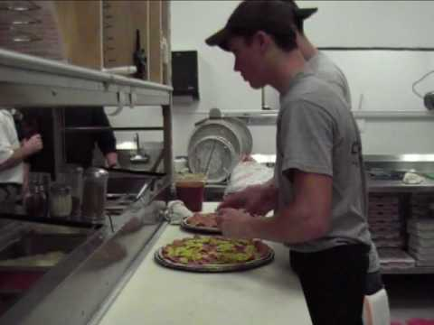 Peerless Pizza Ovens at Work-Montage