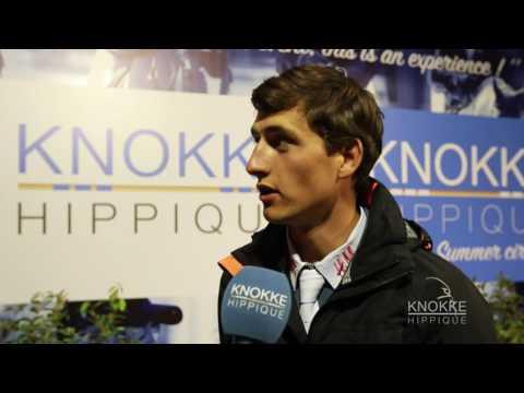 Nicola Philippaerts winner of Prix Sovaro