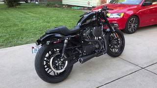 5. Danmoto Highwayman 2-1 exhaust 2016 Harley Davidson Roadster