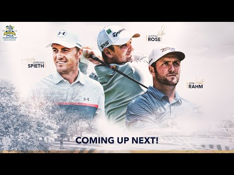 2018 PGA Championship - Live Look-In of Jordan Spieth, Justin Rose and Jon Rahm | Round 2