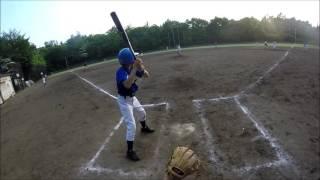 2016八王子エンジョイベースボールスクール球審目線ビデオ