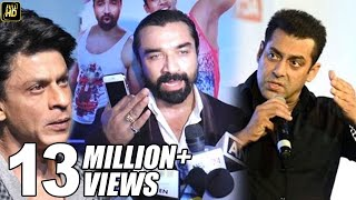 Video Ajaz Khan's SHOCKING Insult To Salman Shahrukh & Aamir Khan For Not Giving Chance To New Actors MP3, 3GP, MP4, WEBM, AVI, FLV Oktober 2017