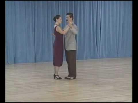 основные фигуры аргентинского танго - 10 Giro (molinete) a la izquerda(4 часть)