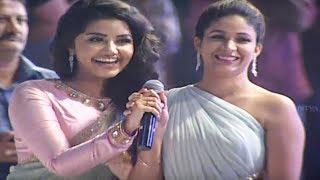 Video Ram, Anupama, Lavanya, DSP Singing Whatamma Song ||  Vunnadhi Okate Zindagi Audio Launch MP3, 3GP, MP4, WEBM, AVI, FLV September 2018