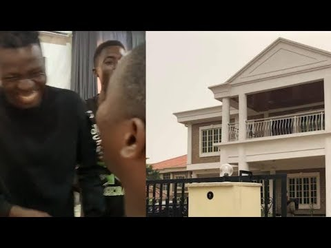 COMEDIAN AKPORORO ACQUIRES ANOTHER BEAUTIFUL  NEW MANSION  ALSO TALK ABOUT ELCTION POSPONMENT