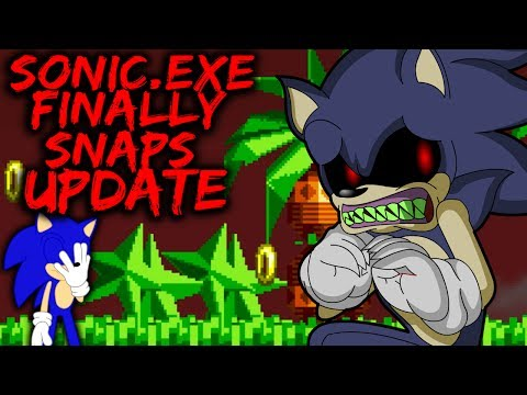 SONIC.EXE QUITS BEING THE BAD GUY! - SONIC.EXE FINALLY SNAPS ? (UPDATED VERSION)