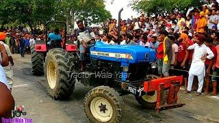 Mahindra 475 Vs New Holland 3630 Tractors Tochan Competition Pind Budhi Tanda Hoshiarpur