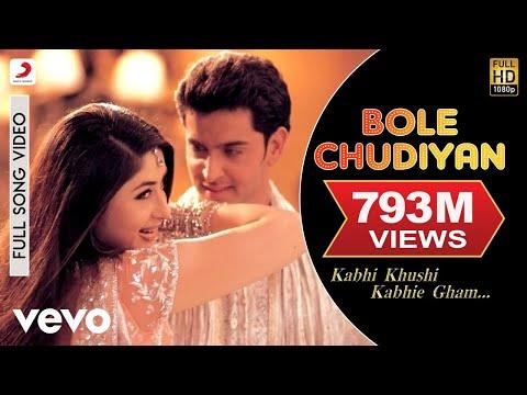 Video K3G - Bole Chudiyan Video | Amitabh, Shah Rukh, Kareena, Hrithik download in MP3, 3GP, MP4, WEBM, AVI, FLV January 2017