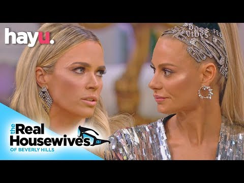 Teddi Admits She Wanted To Hurt Dorit With Dog Gate | Season 9 | Real Housewives Of Beverly Hills