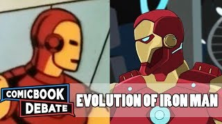 Video Evolution of Iron Man in Cartoons in 18 Minutes (2018) MP3, 3GP, MP4, WEBM, AVI, FLV Juni 2018
