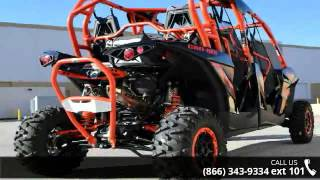 8. 2016 Can-Am Maverick Max X rs Turbo 1000R  - RideNow Powe...