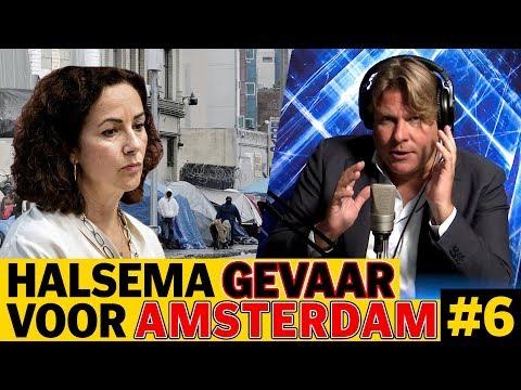 FEMKE HALSEMA GEVAAR VOOR AMSTERDAM - DE JENSEN SHOW #6