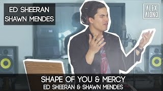 Download lagu Shape of You by Ed Sheeran and Mercy by Shawn Mendes | Alex Aiono Cover Mp3
