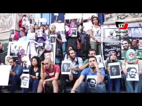 اعتصام واضراب عن الطعام لشباب الصحفيين للمطالبة بإسقاط قانون التظاهر